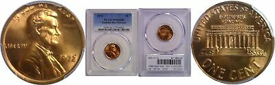 1972/72 Lincoln Cent PCGS MS-66 RD