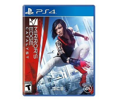 PS4 Mirrors Edge Catalyst NEW Sealed Region Free works on all consoles