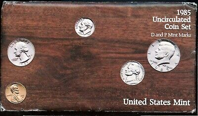 1985-P&D United States Mint Uncirculated Coin Set JA143