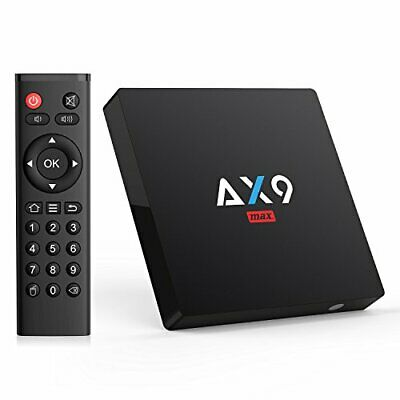 Android TV Box- TICTID AX9 MAX TV Box Android 7.1 Quad Core 2GB RAM/16GB ROM