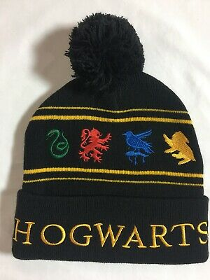 ca93debd567 FANTASTIC BEASTS MOVIE MACUSA Beanie Hat Cap Cuff Pom Harry Potter ...