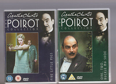 Agatha Christie The Hercule Poirot Collection DVD 7 Five Little Pigs/8 One Two