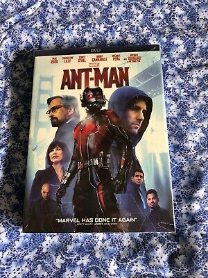 Ant-Man DVD Marvel (2015) Brand New Sealed! Free Shipping!