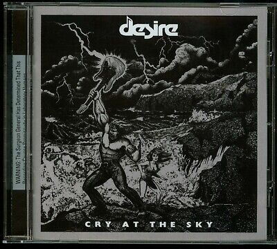 Desire Cry At The Sky CD new US Hard Rock fan of The Rods KISS Riot TKO Y&T