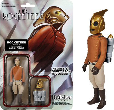"2""-4"" Figures--The Rocketeer - ReAction Figure"