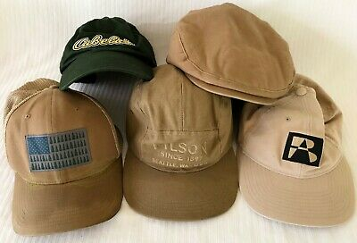 29a9ec7be4f FILSON 11030237 Logger Patch Mesh Back Tin Cloth Otter Green Cap.  35.00  Buy It Now 16d 14h. See Details. Filson Camp Columbia Pine Tree Flag  Cabela s ...