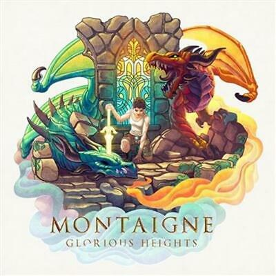 MONTAIGNE Glorious Heights PERSONALLY SIGNED BY MONTAIGNE CD NEW
