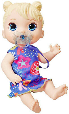 Baby Alive Baby Lil Sounds: Interactive Blonde Hair Baby Doll Kid Toy Gift