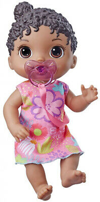 Baby Alive Baby Lil Sounds: Interactive Black Hair Baby Doll Kid Toy Gift
