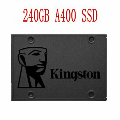 """For Kingston A400 240GB SSD SATA3 2.5"""" Solid State Drive SA400S37 Laptop PC UK"""