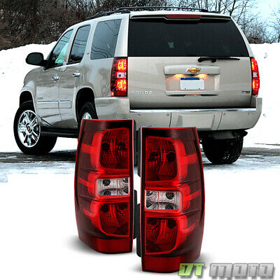 2007-2014 Chevy Suburban Tahoe Tail Lights Brake Lamps Replacement Left+Right