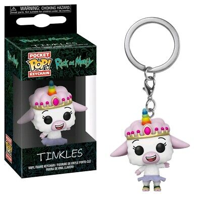 Keychains--Rick and Morty - Tinkles Pocket Pop! Keychain
