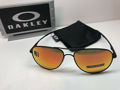 fad8d2ae0df Oakley Elmont M Satin Black Sunglasses 4119-1358 W Prizm Ruby Iridium