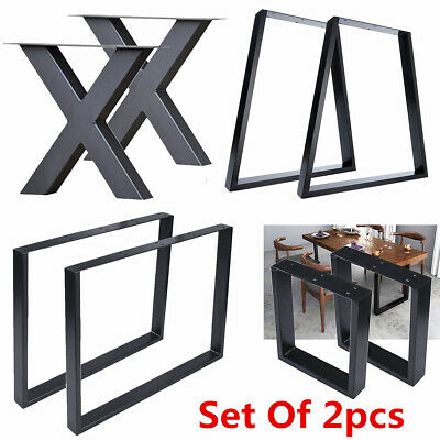 Awe Inspiring 2 X Steel Table Legs Desk Legs Bench Legs Industrial Caraccident5 Cool Chair Designs And Ideas Caraccident5Info