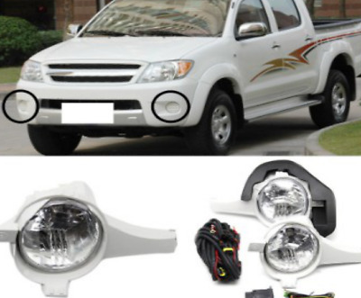 Fog Lamp Lights One pair Left and Right side For Toyota Hilux Vigo 2005