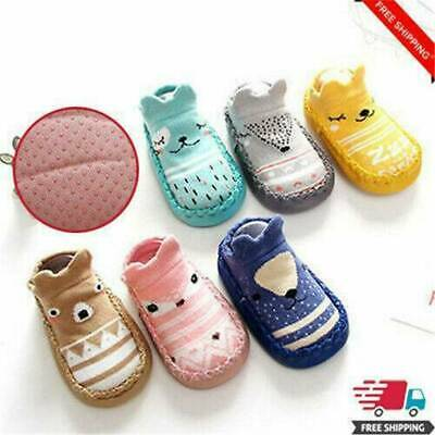 Baby Socks Anti-slip Rubber Sole Silicone Toddler Child Shoes Walkers Footwear