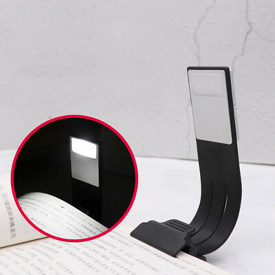 JT_ USB Rechargeable LED Book Light Flexible Clip On Light Night Reading Lamp
