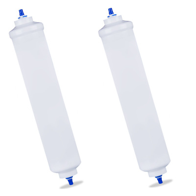 In Line Fridge Water Filters Compatible with Samsung, Daewoo, LG etc 2x