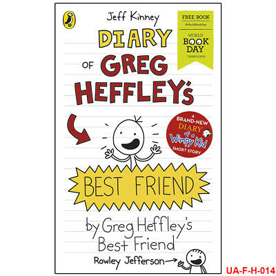 Diary of Greg Heffley's Best Friend World Book Day 2019 Jeff Kinney BRAND NEW