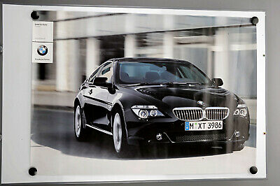 Original Plakat BMW 6er Reihe Coupe Affiche Ancies