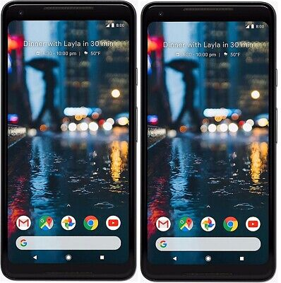 Google Pixel 2 XL Android Smartphone ohne Simlock WLAN LTE 6 Zoll 64GB NFC GPS
