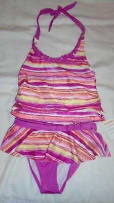 Gymboree Outlet 5T Swim Shop Daisy Rash Guard Swimsuit NWT Pink Yellow White