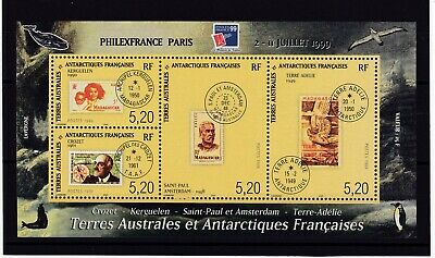 TAAF Bloc Feuillet N° 3 Neuf ** MNH TIMBRES