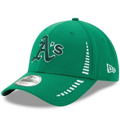 new style 6c60f 7f2d9 Oakland Athletics New Era Speed St. Patrick s Day 9FORTY Adjustable Hat -  Kelly