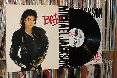 MICHAEL JACKSON BAD LP First Press Sealed Gatefold - $50 00