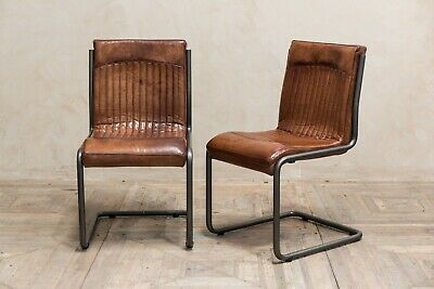 Fine Retro Style Tan Leather Upholstered Dining Chair Vintage Andrewgaddart Wooden Chair Designs For Living Room Andrewgaddartcom
