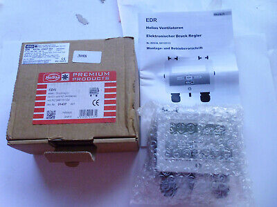 01437-001 EDR HELIOS Régulateur pression Electronic pressure regulator