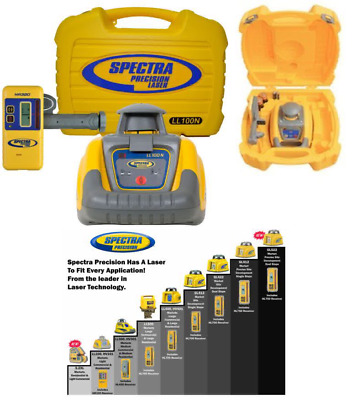 Spectra Precision LL100N Laser Level - Yellow