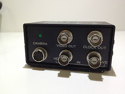 Video Camera 12V DC POWER IN for Sony XC999 xc-999 DIN VD HD Video OUT CLOCK BNC