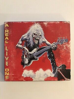 Iron Maiden A Real Live One Import Japon 1993 CD
