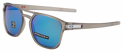 7ca0dbbfc8 Oakley Latch Beta Sunglasses OO9436-0654 Grey Ink Prizm Sapphire Polarized  NIB