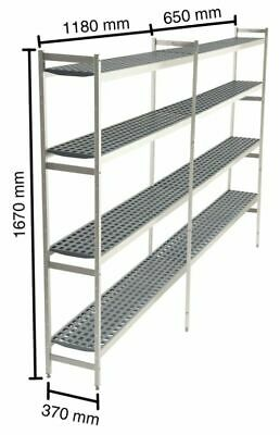 Shelf for Cold Rooms,1180+650 MM