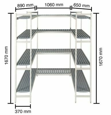 Shelf for Cold Rooms,1060+890 +650 MM