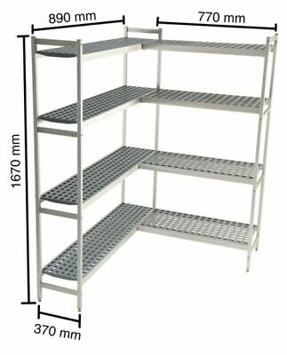Shelf for Cold Rooms,890+770 MM