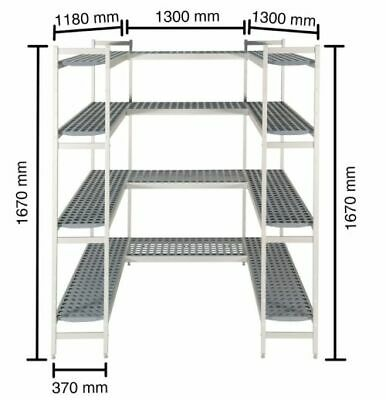 Shelf for Cold Rooms,1180+1300 + 1300mm