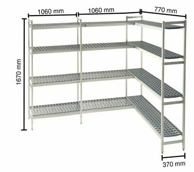 Shelf for Cold Rooms,1060+770 +1060 MM