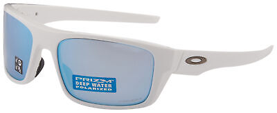 aface1cfae13 Oakley Drop Point Sunglasses OO9367-1460 White Prizm Deep H20 Polarized Lens