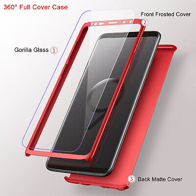 For Samsung Galaxy Note 9 S9 Plus S9 Case Luxury Ultra Slim 360 Shockproof Cover