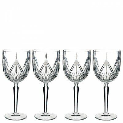 Marquis By Waterford 40032082 Lacey Goblet Set of 4, 15 ounce, Clear Bad Box*