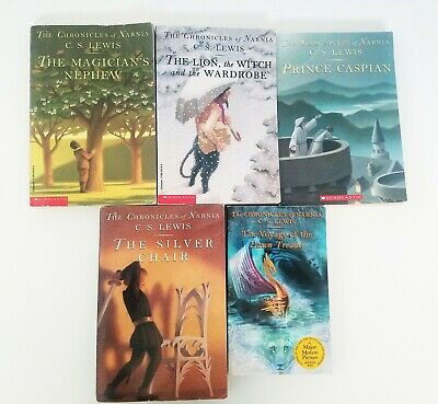 The Chronicles of Narnia book set. Paperback. By C.S. Lewis.