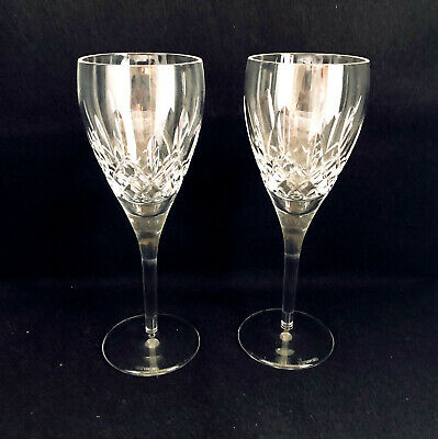 Waterford Crystal Lismore Nouveau 2 Wine Glasses, 8 1/4""