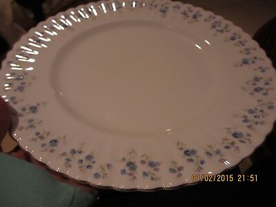 "Royal Albert Memory Lane Dinner Plates 10 3/8"" Set Of (4) Gently Used No Damage"