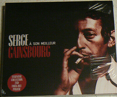 A SON MEILLEUR - GAINSBOURG SERGE (CD x2 Digipack) best of 42 Titres NEUF SCELLE