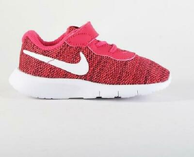 9390db88f78e0 Nike Tanjun Kids Shoes Pink+White Athletic Casual Sneakers Toddler Girls New