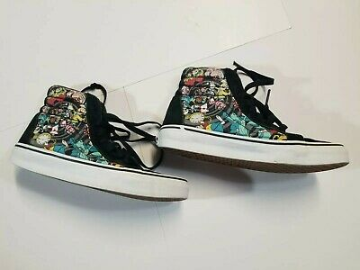c075d4fd91 VANS - Disney Alice in Wonderland - Size 6.5 Women or 5 Men - Small Flaws