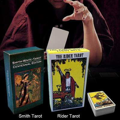 2 Types Tarot Cards English Version Most Popular Cards High Quality Board Game